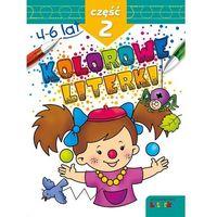 Książki dla dzieci, Kolorowe literki część 2 (opr. broszurowa)