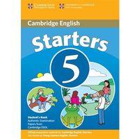 Książki do nauki języka, Cambridge Young Learners English Tests Second Edition Starters 5 Podręcznik (opr. miękka)