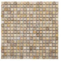 Kamień, DUNIN Mozaika kamienna Travertine CREAM 15 305x305 mm