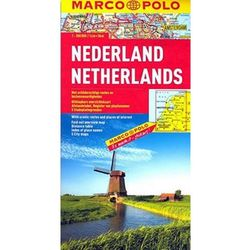 Holandia mapa 1:300 000 Marco Polo