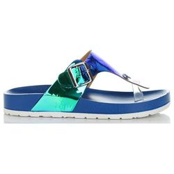 Oryginalne Klapki Damskie z możliwością poszerzenia marki Idea Shoes Niebieskie (kolory)