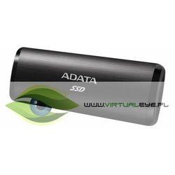 Adata Dysk zewnętrzny SSD SE760 1TB USB3.2-A/C Czarny