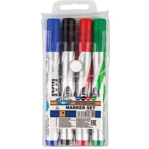 Markery, Zestaw markerów tablicowych 4 szt. 80832