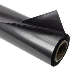 Folia stalowa ferromagnetyczna czarna PLAIN 0,5 mm 20 mb rolka