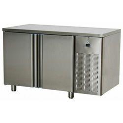 Stół chłodniczy dwudrzwiowy ze zlewem | -2°C/+8°C | 1380x700x(H)850mm