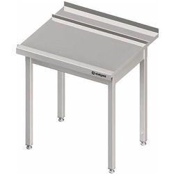 Stół wyładowczy prawy bez półki do zmywarki kapturowej Silanos 1300x740x880 mm | STALGAST, 982427130
