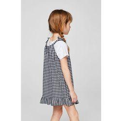 Mango Kids - Sukienka dziecięca Vichy 110-164 cm