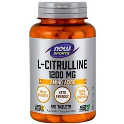 NOW L-Citrulline (L-Cytrulina) (Extra Strength) 1200mg 120 tabl.