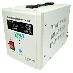 VOLT sinusPRO-500E Przetwornica samochodowa 300W/500W 12V/230V z pełną sinusoidą oraz funkcją UPS i prostownika