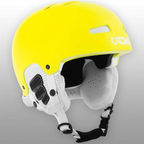 Kaski i gogle, kask dla dzieci TSG - Gravity Youth Solid Color Gloss Neon Yellow (240)