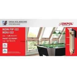 Okno kolankowe OKPOL IKDN FIP I22