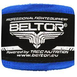Beltor bandaż bokserski bawełniany niebieski