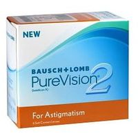 Soczewki kontaktowe, PureVision 2 Toric - 3szt