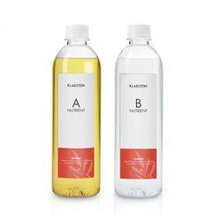 Klarstein Growlt Nutri Kit 300 pożywka roztwór wodny wyposażenie akcesoria 2 x 300 ml