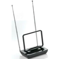 Antena RTV One For All bez wzmacniacza, do 5 km od nadajnika, czarna (SV 9015) Darmowy odbiór w 19 miastach!