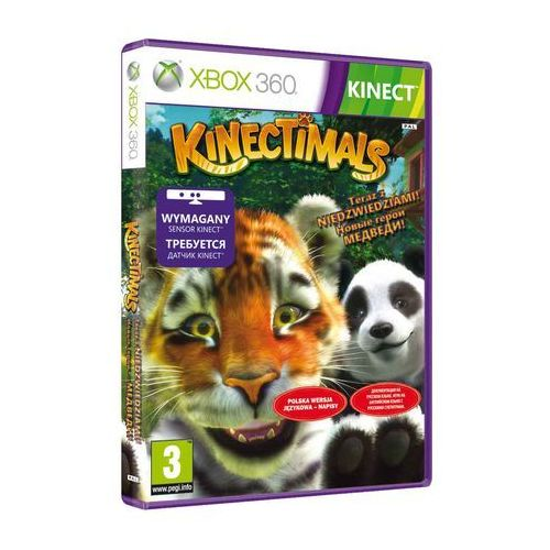 Gry Xbox 360, Kinectimals Now with Bears (Xbox 360)