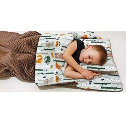Śpiworek przedszkolaka liski + worek
