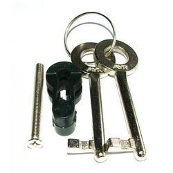 Adaptor nylonowy do zamka magnetycznego AYR na klucz czarny