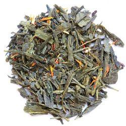 Herbata zielona smakowa sencha żeńszeniowa 100g