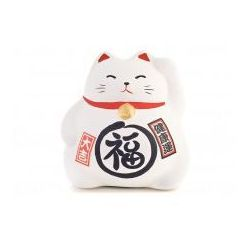 Figurka skarbonka Maneki Neko - Szczęście