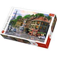 Puzzle, Puzzle 6000 Uliczka Paryża TREFL