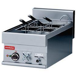 Urządzenie elektryczne do gotowania makaronu z kranem | 4 komorowe | 6000W | 400V | 40x65x(H)28cm