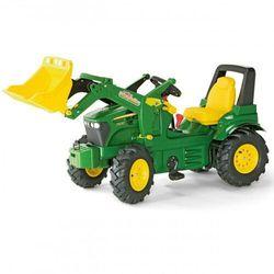 Rolly Toys John Deere Traktor na pedały Biegi Pompowane Koła 3-8 lat