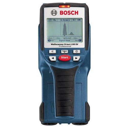 Wykrywacze kabli i przewodów, Wykrywacz Bosch D-TECT 150 SV - ponad 2000 punktów odbioru w całej Polsce! Szybka dostawa! Atrakcyjne raty! Dostawa w 2h - Warszawa Poznań