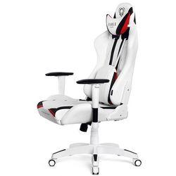 Fotel dla gracza DIABLO CHAIRS X-Ray biało-czarny rozmiar XL
