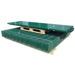vidaXL Panele ogrodzeniowe 2D z słupkami - 2008x2230 mm 16 m Zielone Darmowa wysyłka i zwroty
