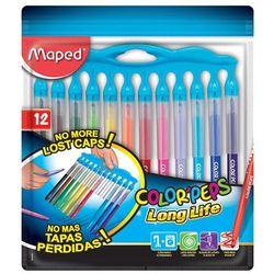Flamastry Colorpeps Longlife Innovation 12 kolorów