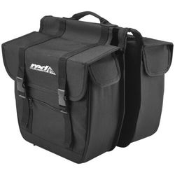 Red Cycling Products Travel Double Bag black Torby na bagażnik