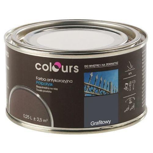 Farby, Farba antykorozyjna Colours grafitowa 0,25 l