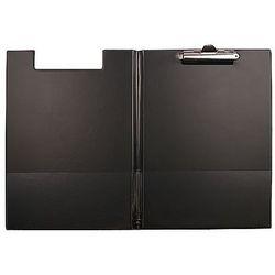 Teczka z klipem i okładką A4 czarna Biurfol KH-04-03