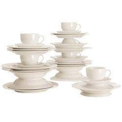 Maxwell & Williams - Basics Round - Zestaw obiadowo - kawowy na 6 osób