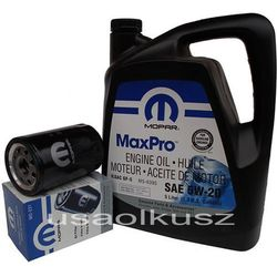 Orygimalny MOPAR filtr oraz olej 5W20 Jeep Grand Cherokee 3,7 V6 2009-