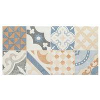 Pozostałe płytki i akcesoria, Glazura Neutral Arte 29,8 x 59,8 cm beżowa patchwork 1,07 m2