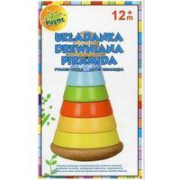 Pozostałe zabawki, BRIMAREX Piramida z kółek