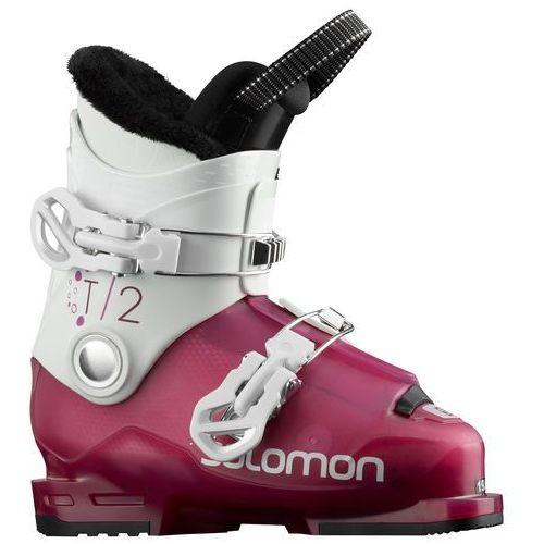 Buty narciarskie dla dzieci, SALOMON T2 RT GIRLY ROSE - buty narciarskie R. 19