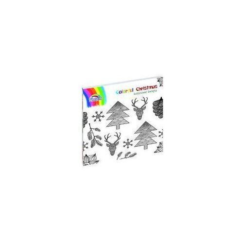 Kolorowanki, Colorful Christmas Książka do kolorowania - Praca zbiorowa
