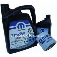 Oleje silnikowe, Oryginalny MOPAR filtr oraz mineralny olej 5W30 Jeep Commander 4,7 V8 -2008