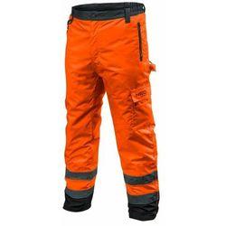 Spodnie robocze ocieplane pomarańczowe XXL NEO
