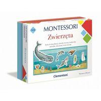Gry dla dzieci, Clementoni gra montessori zwierzeta