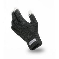 Rękawiczki męskie PaMaMi - Ciemnoszary - Ciemnoszary
