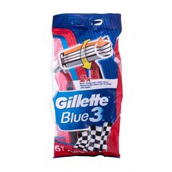 Gillette Blue3 Nitro maszynka do golenia 6 szt dla mężczyzn