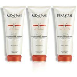 Kérastase Lait Vital | Zestaw: mleczko proteinowe do włosów normalnych i suchych 3x200ml