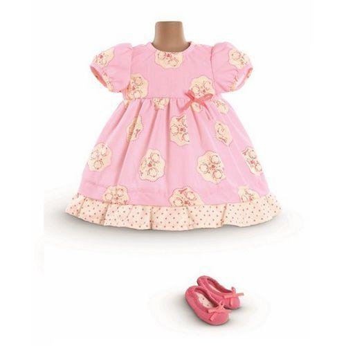 Ubranka dla lalek, Ubranko dla lalki Mon Classique 42 cm Corolle - Sukienka i baleriny 746775224622