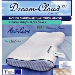 Poduszka Profilowana Dream-Cloud Premium Bio M - 55x32x11/6cm