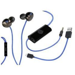 Słuchawki SONY In-Ear Headset PS4 Czarno-Niebieski