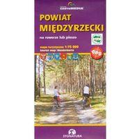 Mapy i atlasy turystyczne, Mapa turystyczna - powiat międzyrzecki 1:75 000 (opr. broszurowa)